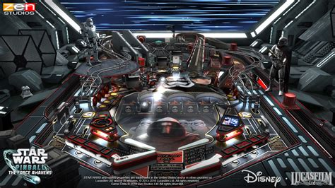 star wars pinball  force awakens pack zen studios