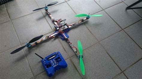 printed quadcopter drone   build
