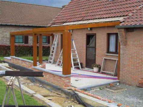 veranda en bois plan homeandgarden