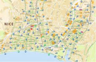 Nice France Bus Map