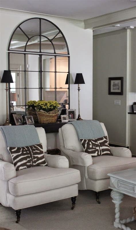 mirrors  solve decorating problems living room