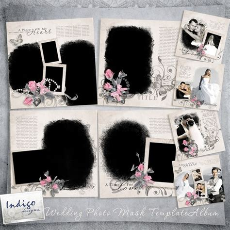 digital book wedding template vol 1 to 7 17 best images about scrapbook on pinterest vintage