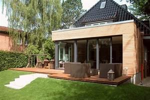 Anbau An Einfamilienhaus : anbau an ein doppelhaus in geesthacht harms und k ster bau gmbh ~ Indierocktalk.com Haus und Dekorationen