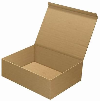 Cardboard Box Open Clip Clipart Transparent Shoebox