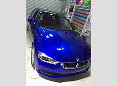 Midnight Candy Gloss Metallic Blue Vinyl Wrap Car Wrap
