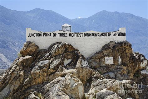 junction of the three great mountain ranges of the