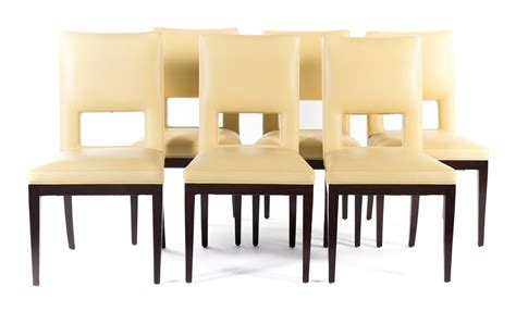 upholstered dining chairs set of 6 1586 set of six contemporary upholstered dining chairs