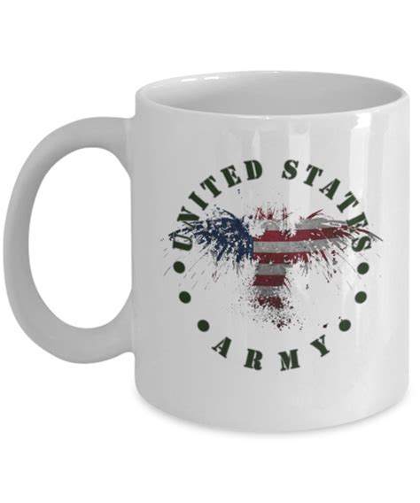 We have over 40 years experience in printing unique and complex military crests. United States Army Coffee Mug