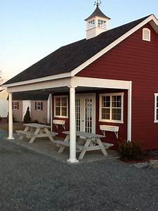 like this color scheme black roof red barn with white With barn red house paint