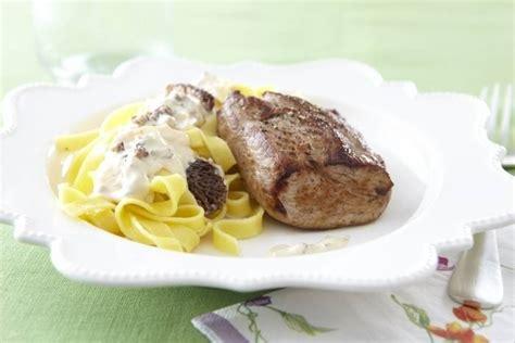 cours de cuisine gastronomique lyon recette de grenadin de veau aux morilles et tagliatelle