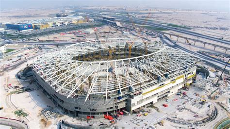 Prime minister sheikh khalid bin khalifa bin abdulaziz al thani told qatar newspaper editors that the gulf nation is trying to secure a million vaccine doses to immunize fans wanting to watch the tournament. Qatar 2022: New aerial pictures reveal FIFA World Cup ...