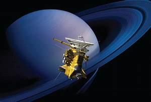 NASA's Cassini Spacecraft Prepares for Ring-Grazing Phase ...
