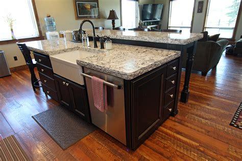 raised kitchen sink affordable custom cabinets showroom 1715