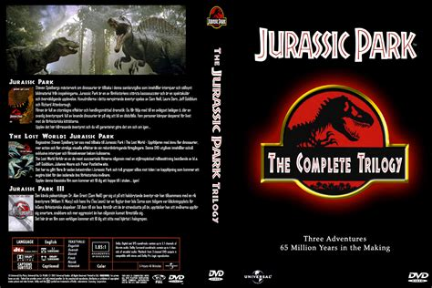 Jurassic Park Cover by Covers Box Sk Jurassic Park Trilogy High Quality