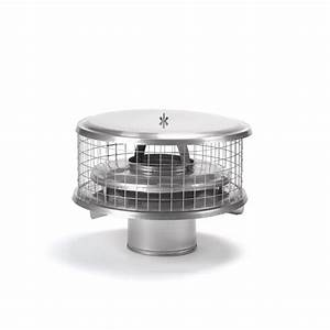 Homesaver Pro 10 Inch Round Chimney Cap For Air