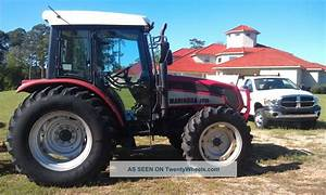 Mahindra 7010 Tractor W   Cab Heat And Air