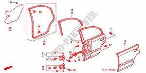 2000 Honda Civic Body Parts Diagram