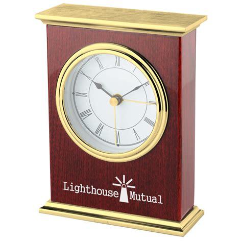 4imprintcom Corporate Wood Clock 136884 Imprinted With
