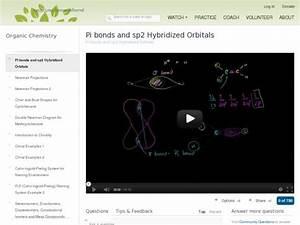Pi Bonds And Sp2 Hybridized Orbitals Video For 10th
