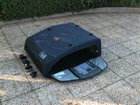 trop de bagages en voiture pensez au coffre de toit souple et pliable