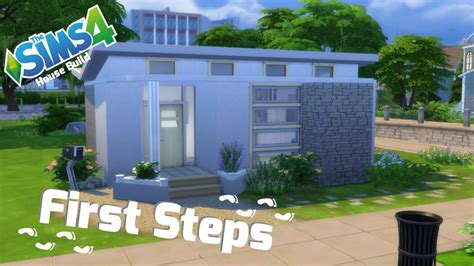 sims  starter house  steps sims  building