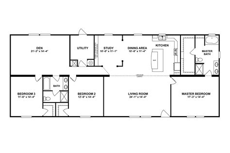 Clayton Homes Commander Floor Plans by Clayton The Commander