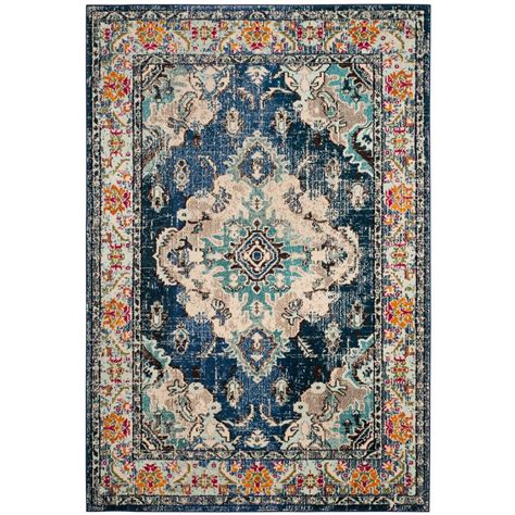 safavieh light blue rug safavieh monaco navy light blue 9 ft x 12 ft area rug