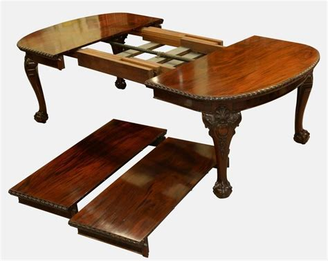 Large Twoleaf Wind Out Dining Table For Sale At 1stdibs