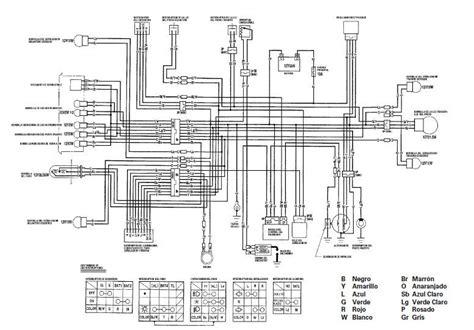 manuales de diagramas el 233 ctricos yamaha dt 125 honda cg 125 225 n honda cg 125 pinterest