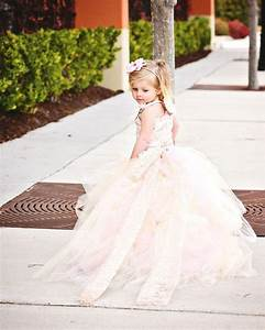 pink wedding flower girl dress 2231829 weddbook With flower girl wedding dresses