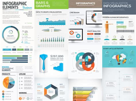 Free Download  Infographic Vector Templates Designbeep