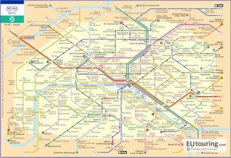 paris metro maps   metro lines  stations