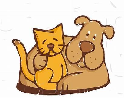 Friends Dog Cat Clipart