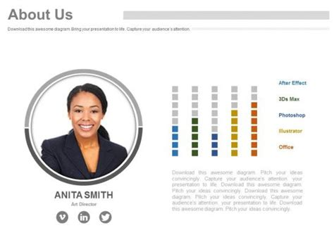business employee profile    powerpoint