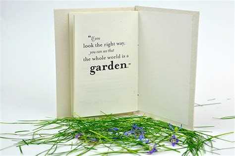 Selected Quotes From The Secret Garden Book On Behance