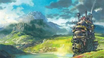 Miyazaki Wallpapers Moving Castle Howl Ghibli Howls