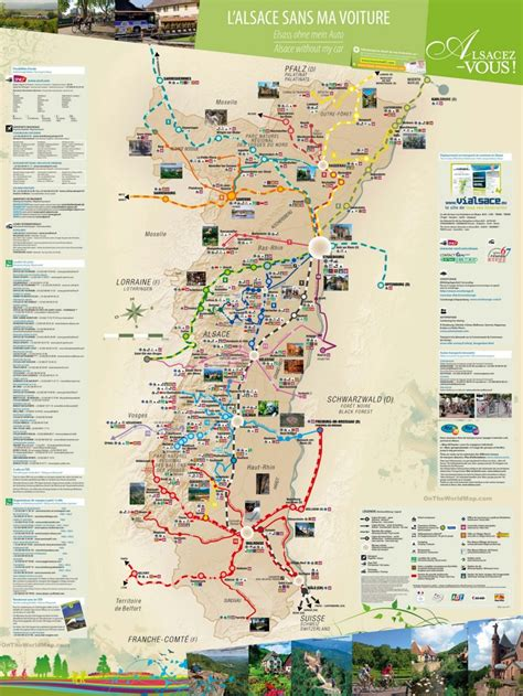 travel map  surroundings  strasbourg