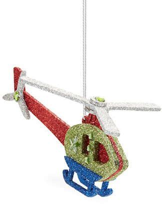 lord taylor toy helicopter christmas ornament