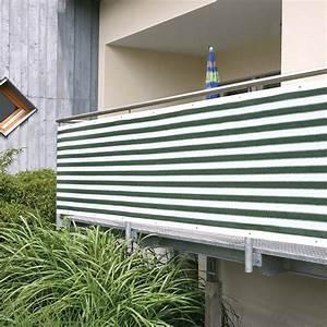 Balkonsichtschutz grun weiss hohe 09 m meterware for Feuerstelle garten mit balkon sichtschutz meterware weiß
