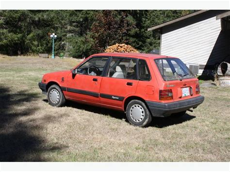 1988 Chevrolet Sprint, 217312km, 3 Cylinder, Automatic