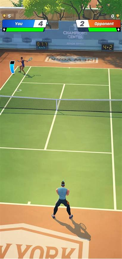 Tennis Clash Android Raqueta