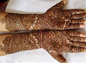 Rajasthani Bridal Mehndi Designs For Full Hands: Top 15 Of ...