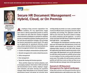 sap hr opentext With hr document management