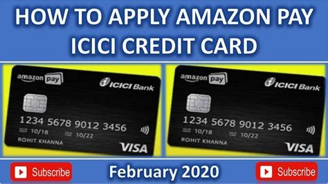 Maybe you would like to learn more about one of these? HOW TO APPLY AMAZON PAY ICICI CREDIT CARD/FEBRUAR 2020 - YouTube