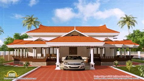 traditional 1 duplex wall kerala house roof design