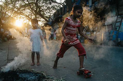 india mumbai street walker reay near road