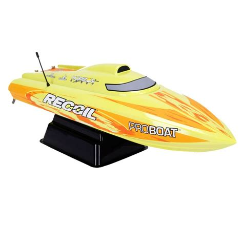 Recoil Rc Boat by Pro Boat Recoil 26 Inch Self Righting V Bl Rtr
