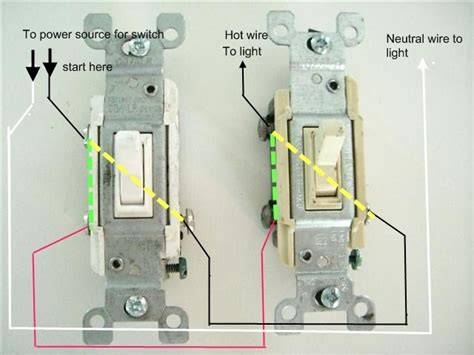 How Wire Two Switches One Light