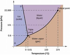 Solved  From The Phase Diagram For Water  Figure Below   D