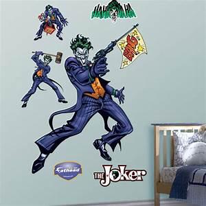 the joker wall decal shop fatheadr for batman decor With nice fathead batman wall decal